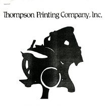 Image of Informational packet on the chronology of Thompson Printing Co.