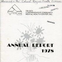 Image of 1978 Annual Report for Tri-City Mental Health Center
