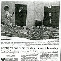 Image of Hammond Times April 9, 1996 article