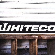 Image of Printed Internet image of a vintage Whiteco sign