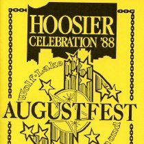 Image of AugustFest 1988 Brochure