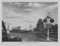 Image of Card 30 - Railroad Crossing