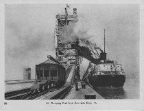 Image of Card 49 - Ship Loading Coal