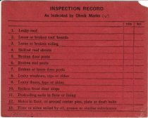 Image of N&W Boxcar Insp Cert Back