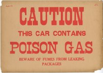 Image of Caution Poison Gas