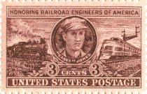 Image of Railroad Stamp