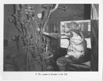 Image of Engineer In Cab