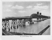 Image of Train Crossing Bridge