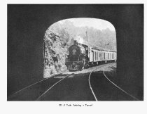 Image of Train Entering Tunnel