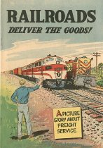 Image of Railroads Deliver Goods