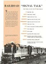 Image of Railroad Signal Talk