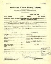 Image of NW Completion Notice