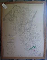 Image of Map of Fauquier 1976 Copy