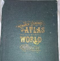 Image of The Monarch Standard Atlas of the Commercial, Geographical and Historical World - 1906