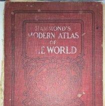 Image of Hammond's Modern Atlas of the World - 1908