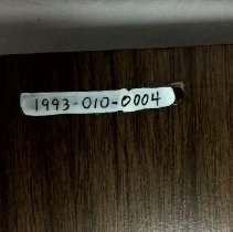Image of Newly applied number