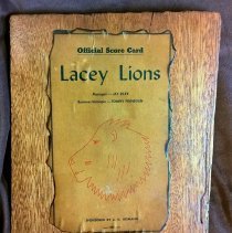 Image of Lacey Lions Scorecard