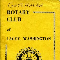 Image of Lacey Rotary Roster 1970-1971