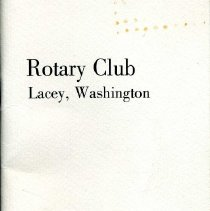 Image of Lacey Rotary Club Membership Roster