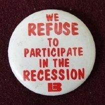 Image of Refuse to Participate in Recession button