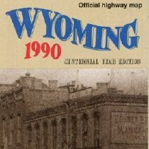 Image of 1990 Wyoming Highway Map