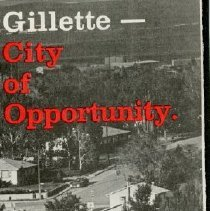 Image of Gillette, WY City Map