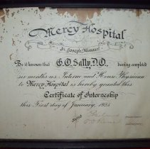 Image of 3000.176 - Certificate