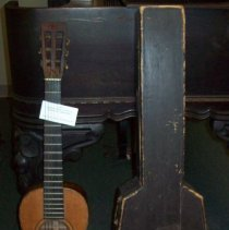 Image of Guitar and case