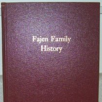 Image of This is a book of the Fajen Family History. Photo #1678 and 1679