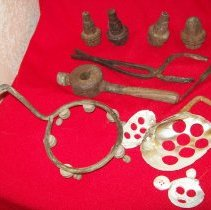 Image of Button making tools