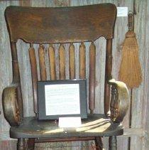 Image of Shoe Shine Chair