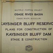 Image of Blueprints for Truman Dam