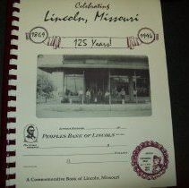 Image of Book Celebrating 125 years of Lincoln, MO