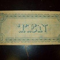 Image of Confederate $10.00 bill