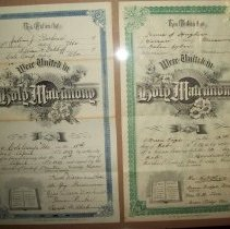 Image of Marriage License