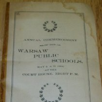 Image of Commencement Program