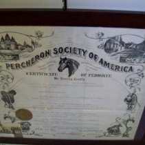 Image of certificate
