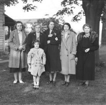 Image of Group of women at Cranbury - 05/14/1939