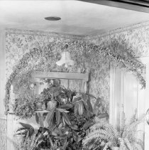 Image of Wedding bower for Beatrice Smith - 01/26/1936