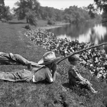 Image of Boys on the Bank 364