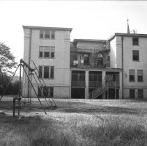 Image of Children's Industrial Home of New Brunswick - Rear - 07/10/1940
