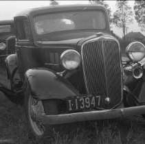 Image of John Young's Car Front View - 09/18/1935