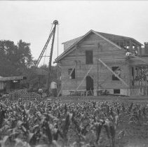 Image of Harry Totten's House Under Construction - 07/09/1927