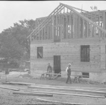 Image of Harry Totten's House Under Construction 135