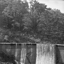Image of Double Falls - Chimney Rock - 05/17/1936