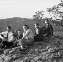 Image of Group at Chimney Rock 616 94
