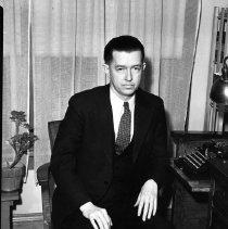 Image of Elton H.L. Wade at Desk - 03/22/1936