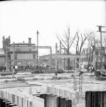 Image of New Post Office, Framing - 03/26/1936