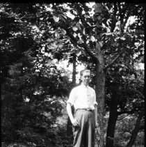 Image of Elton H. L. Wade at Lake Lenape - 07/26/1928