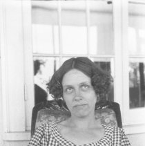 Image of Maud Totten reading - 07/26/1923